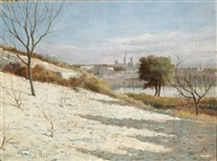 avignon, l'hiver by louis-lina bill