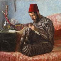 jemenitischer toraschreiber by lazar krestin