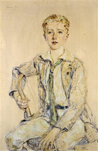 portrait of a boy by robert reid
