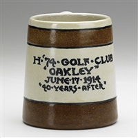 commerative cup for the oakley golf club by sarah gelner