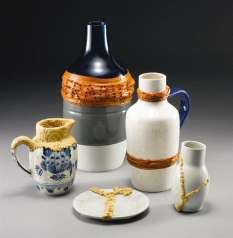 unique works from the design for a living world exhibition (set of 5) by hella jongerius