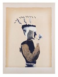 hombre con grillo by francisco toledo