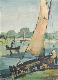 the yellow sail by siegfried reich an der stolpe
