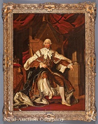 portrait of king george iii, in the style of allan ramsay (1713-1784) by british school (19)