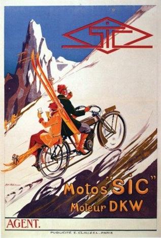 motos sic moteurs dkw by alphonse noel