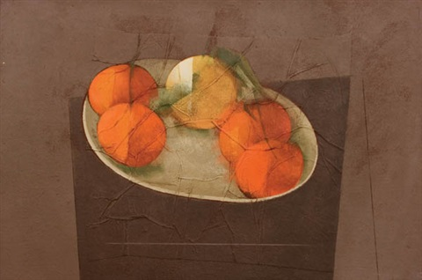 tangerinas e laranja by carlos scliar