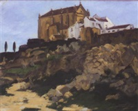 a village church in the ronda by william macdonald