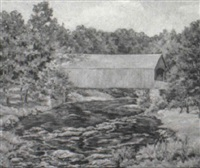 old comstock bridge by bissell phelps smith