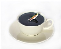 cup and saucer by gifford myers