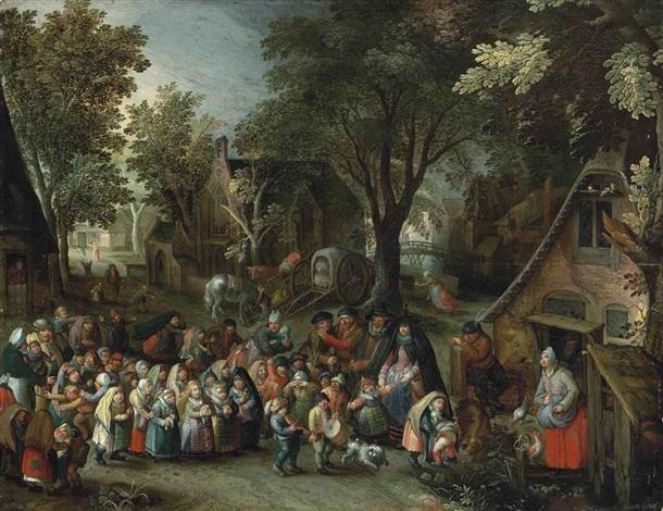 the whitsun bride by david vinckboons