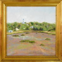 view from woody's yard (wellfleet) by ruth hogan