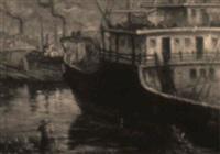 escena de puerto by julián ibáñez de aldecoa