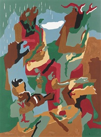 celebration of heritage by jacob lawrence