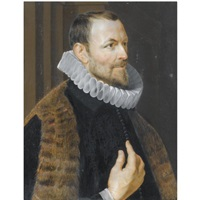 half-length portrait of nicolaas rockox by philip fruytiers