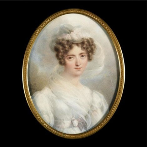 portrait of a lady by rodolphe bell
