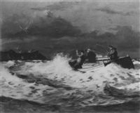 dying dune, sag harbor by hjalmar amundsen