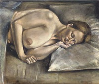 sleeping nude by christopher couch
