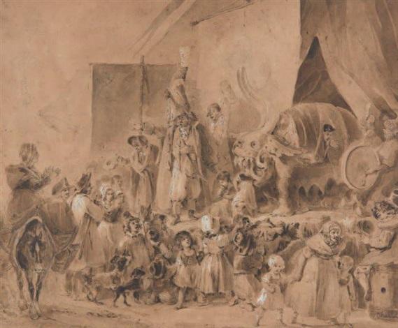 scène de foire by nicolas toussaint charlet