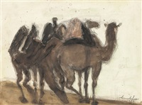the camel train by avni arbas