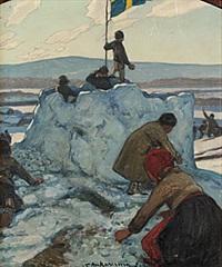 snöbollskrig by stan gustaf herman ankarcrona