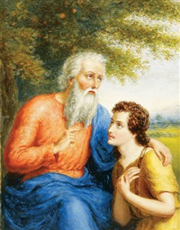 abraham and isaac by edward armitage