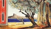 spanish landscape by constantin pacea