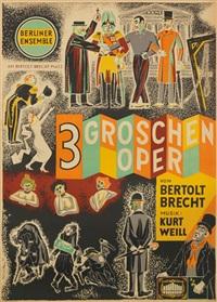 berliner ensemble/3 groschen oper by karl von appen