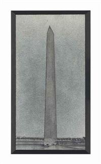 washington monument by richard artschwager