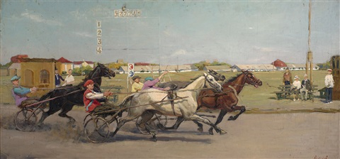 at the races by vladimir i nekrasov