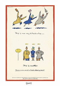 this is one way to hail a bus by fougasse (cyril kenneth bird)