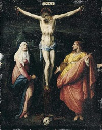the crucifixion by jacopo zucchi
