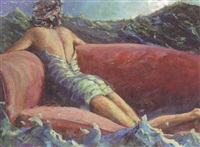 odalisque adrift by james gingerich