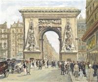 porte st. denis, paris by jean leport