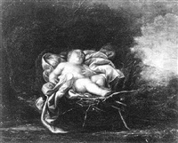 the sleeping infant jesus by gaetano astolfini