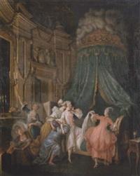 le coucher de la mariée by mulnier