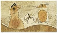 oiseaux souterraines by max ernst