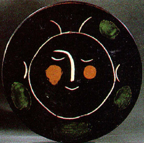 eb4af463026 Service visage noir - Assiette G by Pablo Picasso on artnet