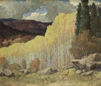 autumn solitude by carl von hassler