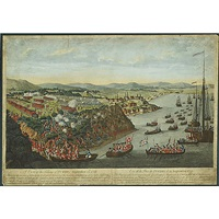 a view of the taking of quebec by laurie & whittle