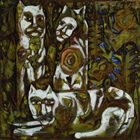 cats by bernard langlais