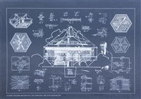 1928 4d house (from inventions twelve around one) by buckminster fuller