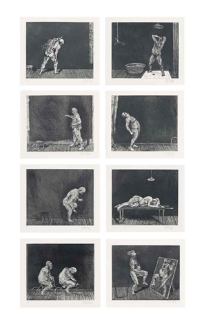 ubu tells the truth set of 8 by william kentridge