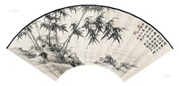 竹溪图 (ink bamboo) by xu zonghao