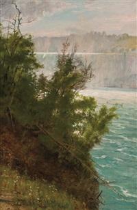 niagara from the american side by albert bierstadt