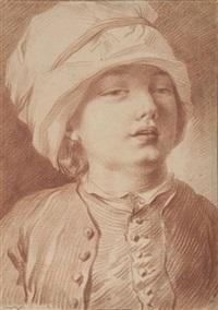 portrait eines jungen mannes by edmé jeaurat