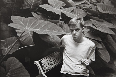 truman capote writer new orleans louisiana usa by henri cartier bresson
