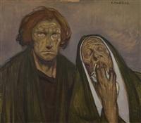 jean et marie au calvaire by jean georges cornelius
