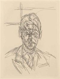 l'inhabité (bk w/6 works) by alberto giacometti