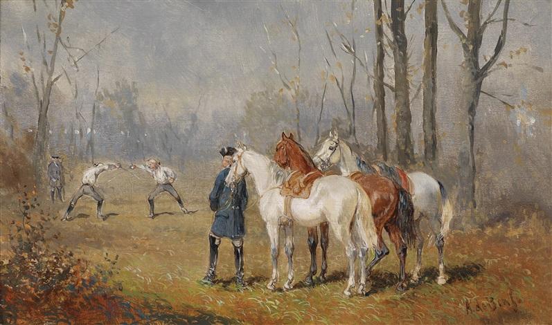 das duell by alexander ritter von bensa