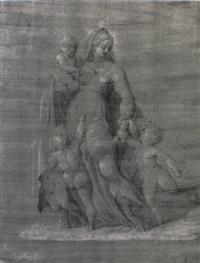 la charité by girolamo macchietti